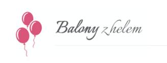 balony ledowe z helem logo